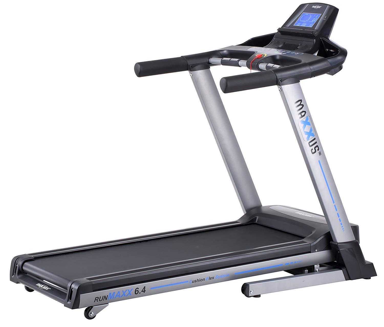 Laufband MAXXUS RunMaxx 6.4 Klappbar - Kompakte Treadmill Mit Klappbarer Lauffläche Und Dämpfungssystem - 18km h, 12% Steigung - Starker 2,25 5,6 PS DC-Motor - Große Lauffläche Für Sicheres Training