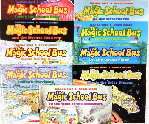 Magic School Bus Set of 9 Books