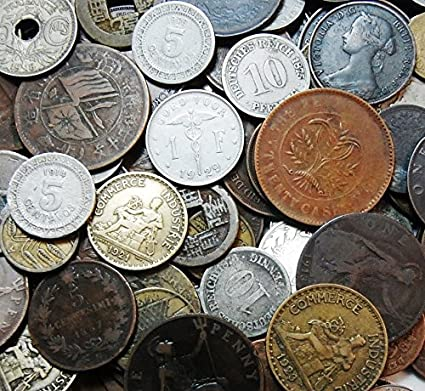 50 Old Coins - All 70 or More Years Old - Dating Back to The 1800's