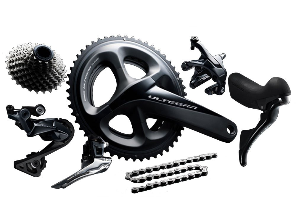 Shimano ULTEGRA R8020 DISC NEW 2018 COMPLETE GROUP SET: Amazon co uk