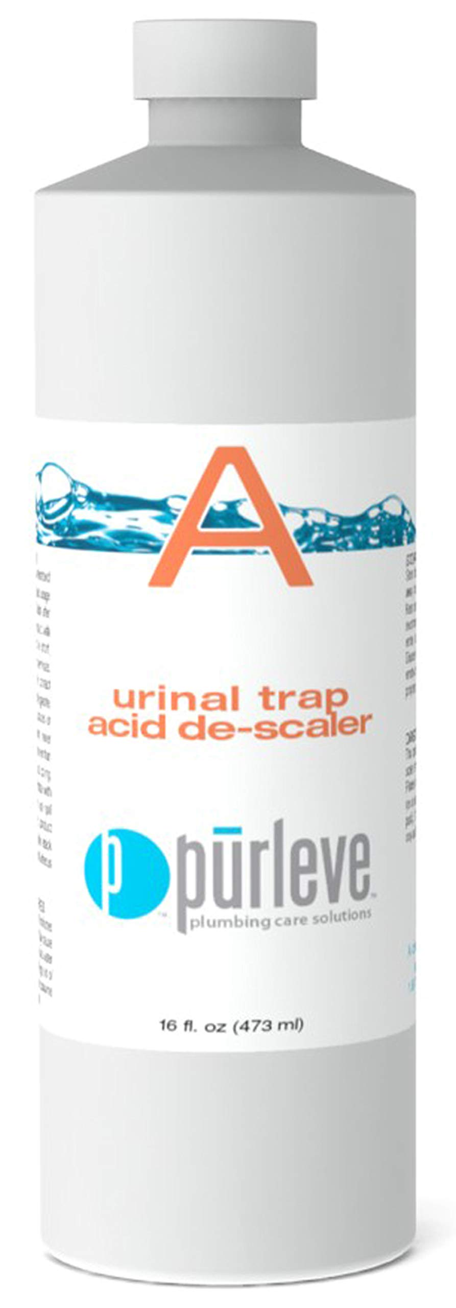 Purleve Part A: Urinal Trap Acid de-Scaler (16 OZ) by Purleve
