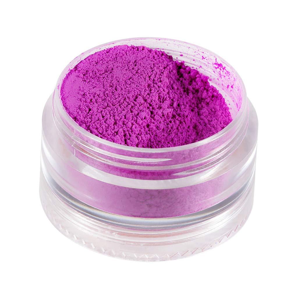 LUKALUKADA Eyeshadow Powder Loose Pigment Bright Eye Shadow Matte Nail Art Powder