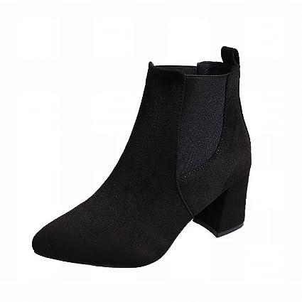 Damen Hohen Absätzen Boots Mit All Stiefel Single Schuhe WI2DHE9Y