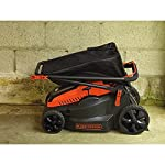 "BLACK+DECKER 40V MAX Cordless Lawn Mower, 16-Inch (CM1640) 13 Height Adjust- 6 settings, with a height of cut between 1-1/10"" and 3-1/10"" Includes (2) 40V Max Lithium Batteries Folding handles for easy & convenient storage"