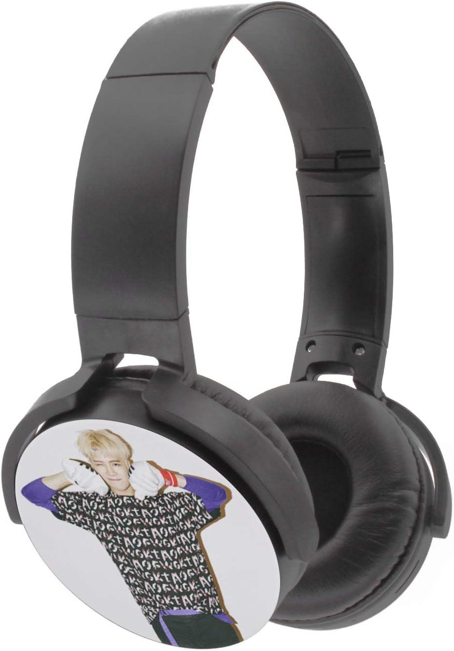 Fanstown Kpop GOT7 Headphone Earphone Heatset Bluetooth Wireless Hi-Fi Stereo Wired Wireless Just Right with Pendant