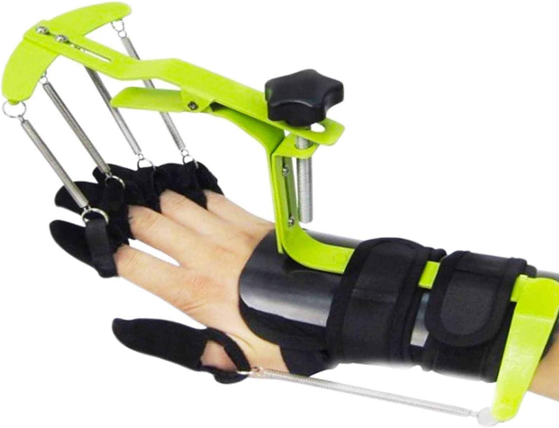 Massage-AED ortesis de Dedo, rehabilitación de Trazos, integración Activa y pasiva, Soporte de tendón para Brazos, Resistencia Ajustable, para Manos Izquierda y Derecha