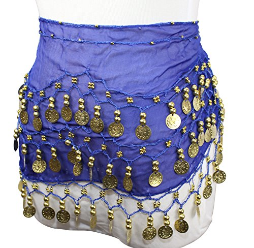 REINDEAR-15-Pcs-Mixed-Colors-Wholesale-Belly-Dancing-Voile-Dance-Hip-Belt-Wrap-US-Seller