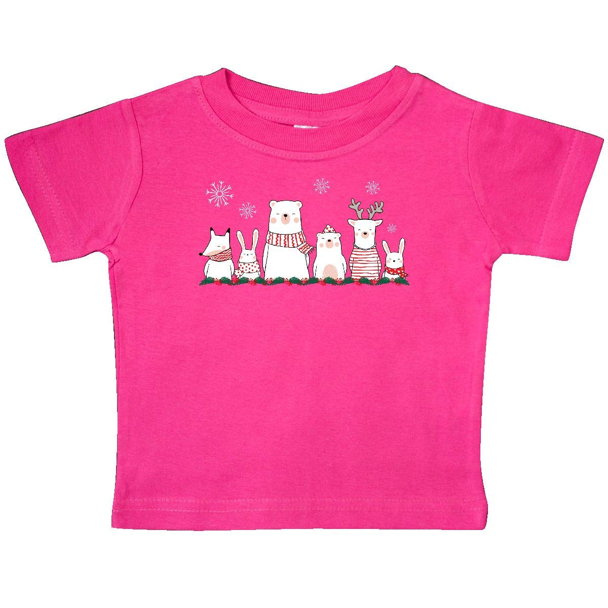 inktastic Winter Holly Christmas Baby T-Shirt