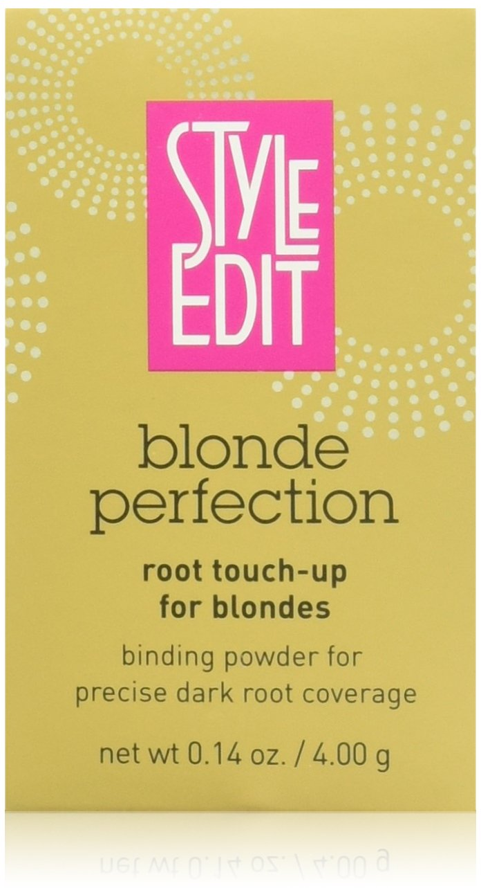 Style Edit Root Touch Up Blonde Perfection | Root Coverage Concealer | Grey Coverage | Press Powder Hair Color (Dark Blonde)