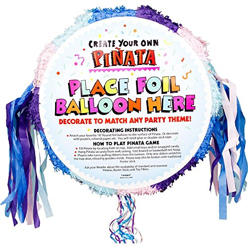 (Unique Industries Bb103112 Pastel Pull-string Blank Pinata)