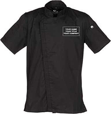 Chef Works Personalized Mens Springfield Chef Coat