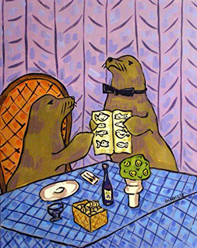sea-lion-food-critic-decor-signed-art-print
