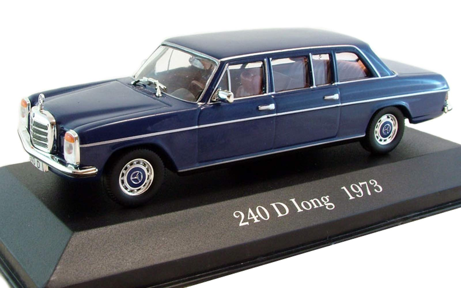 Mercedes-Benz 240 D Long 1973 Year German Executive Sedan 1/43 Collectible Model Vehicle Six-Cylinder Engine by Automotive Manufacturer Mercedes-Benz