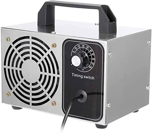 LALEO Generador De Ozono 20G Máquina De Ozono Purificador De Aire De Acero Inoxidable Limpiador De Aire Esterilización Limpieza Formaldehído: Amazon.es: Hogar