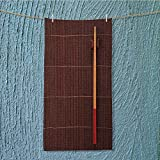 travel towel two chopsticks on a bamboo mat Luxury Hotel & Spa Towel w13.8 x H27.5 INCH