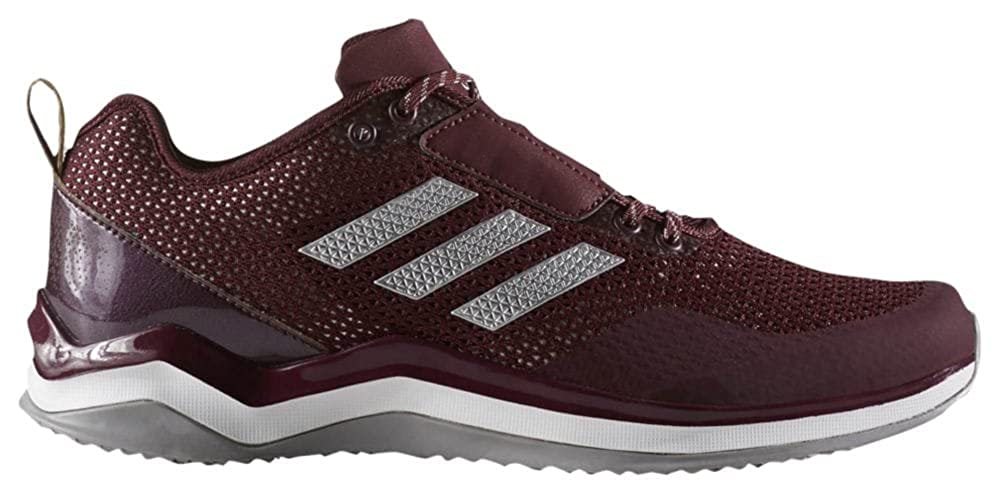 Maroon argent blanc Adidas Speed Trainer 3.0 Synthétique paniers
