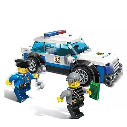 Amazon Com City Police Car Toys Bricks For Boys Age 6 12 Yr Kids