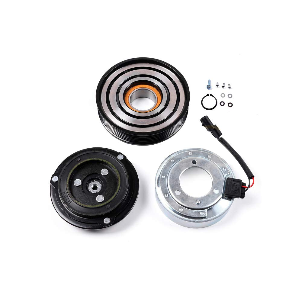 ECCPP A//C Compressor with clutch CO 11200C fit for 2008-2013 Nissan Rouge