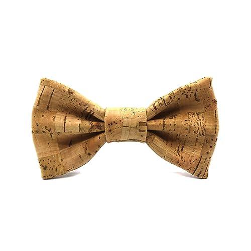 Pajarita de corcho Brick. Colección de moda hombre: Fabricada en España. Línea boda y eventos. Regalo vegano, elegante y original.: Amazon.es: Handmade