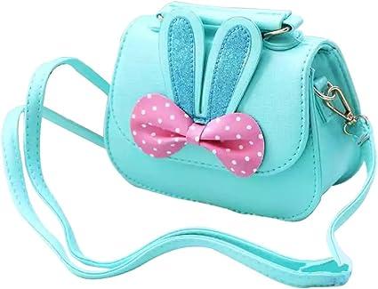 Toddler PU Leather Mini Cute Handbags Purses Little Girls Crossbody For Kids