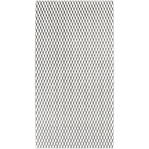 Expanded Metal Sheets - National Hardware N341-529 4075BC Expanded Steel in Plain Steel, 3 pack
