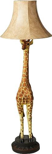 Design Toscano Heads Above Giraffe Floor Lamp,Full Color