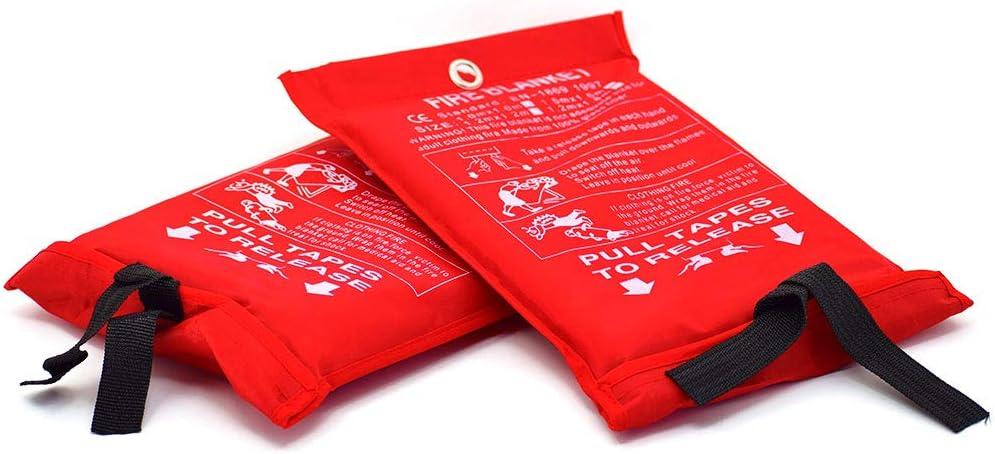 Parcil Distribution PD-452 Emergency Fire Extinguisher Blanket Set