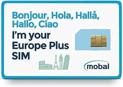 Amazon.com: Mobal Europe Plus - Tarjeta SIM: Whitebox Inc