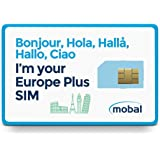 Mobal Europe Plus SIM Card Includes 1GB of Fast 4G Data, Excellent Coverage Throughout Europe
