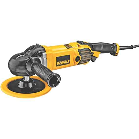 DEWALT DWP849 X 7-Inch/9-Inch Variable Speed Polisher with Soft Start