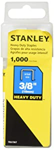 Stanley Sharpshooter Staples, 3/8 Inch Leg Length, 1000/Box (TRA706T)