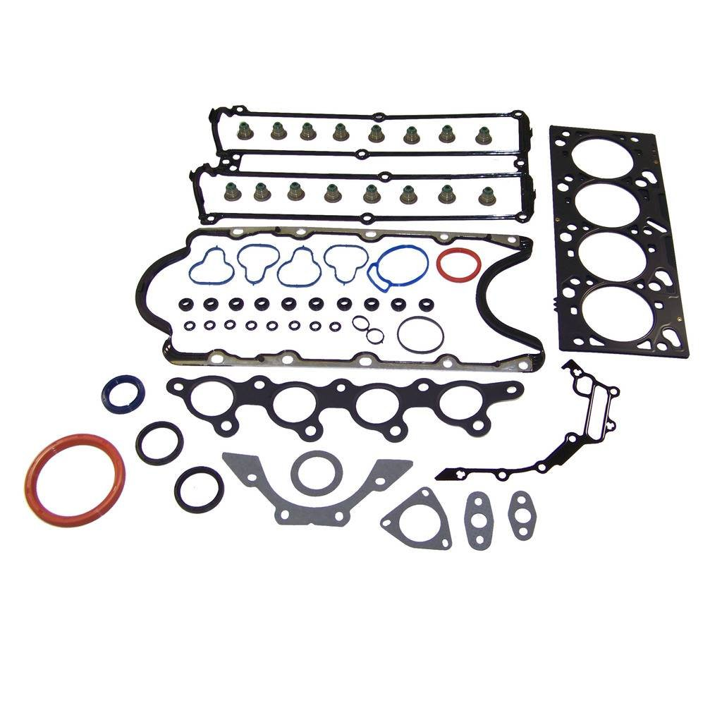 DNJ EK438M Master Engine Rebuild Kit for 2000 2.0L 121cid L4 DOHC VIN 3 Ford//Focus 16V