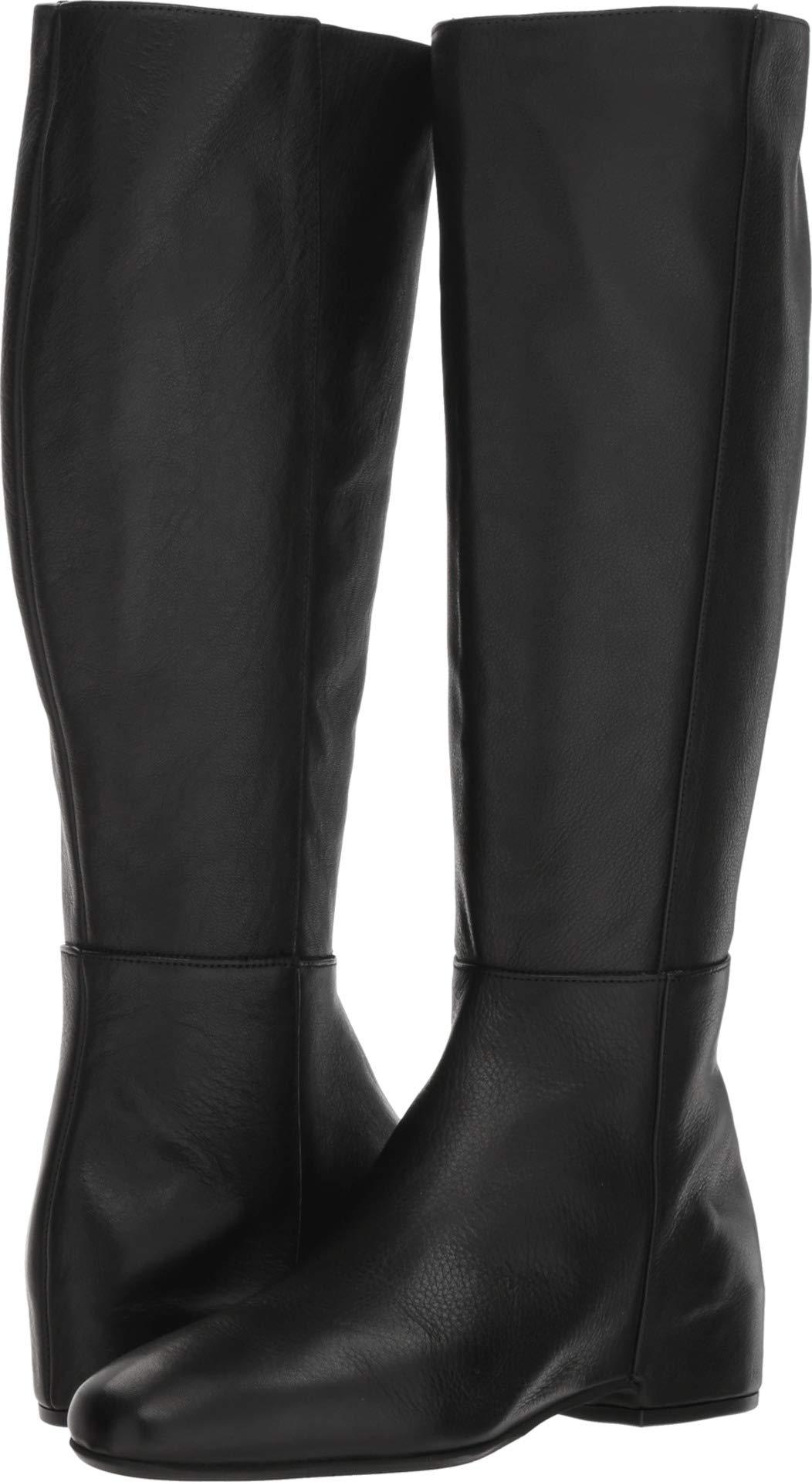Aquatalia Women's URSA Tumbled Calf Fashion Boot Black 9.5 M US by Aquatalia