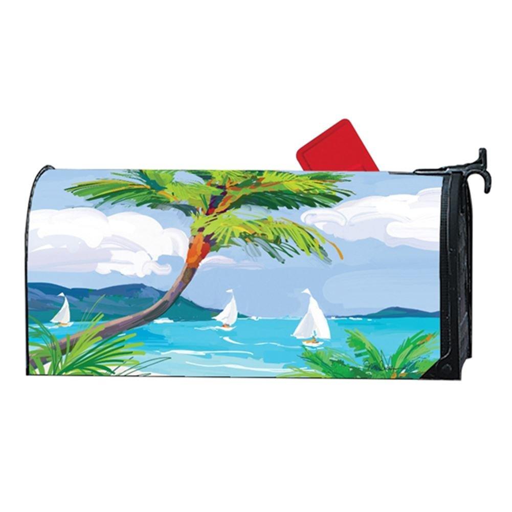 マグネットWorks MailWrap – Tropical Palm Tree B078RYNRD7 14059