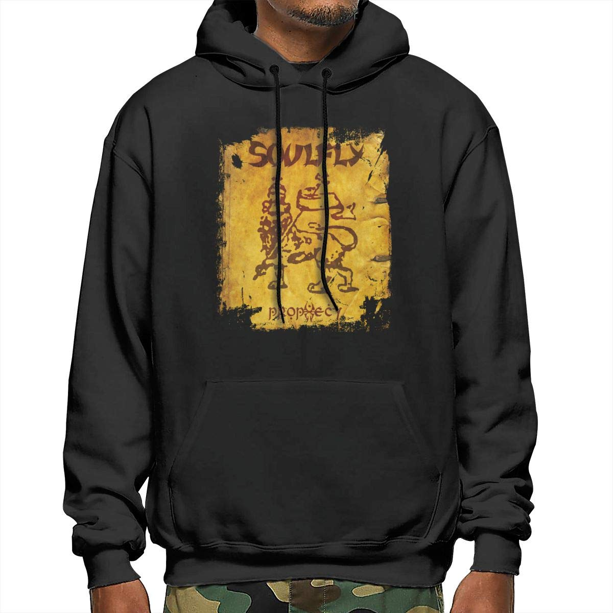 Opanjyajk Soulfly Prophecy Mens Pullover Hooded Sweatshirt
