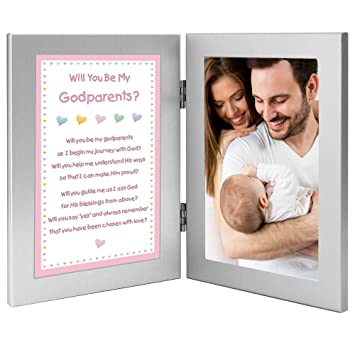 Amazon.com : Will You Be My Godparents? from Baby Girl Godchild ...