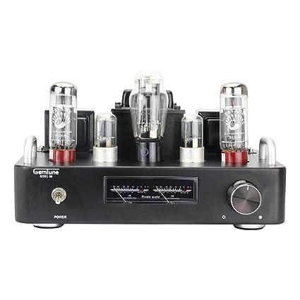 GemTune Amplificador de Tubo Hi-Fi GS-01M EL34, Tubos: EL34B *