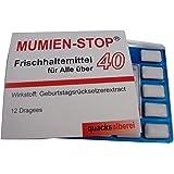 "Witzige Kaugummis ""MUMIEN-STOP 40"" zum 40. Geburtstag"
