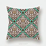 Custom Satin Pillowcase Protector Arabic Floral Seamless Pattern Traditional Arabic Islamic Background Mosque Decoration Element 445450717 Pillow Case Covers Decorative