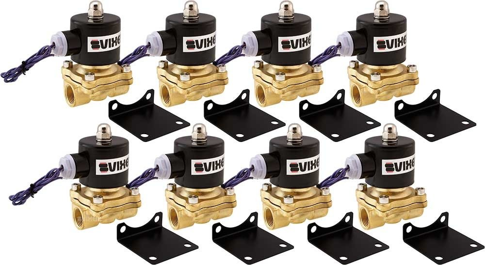 Vixen Air VXF2012-8 1/2 NPT Solenoid 210 PSI (8PK) by Vixen Air (Image #1)