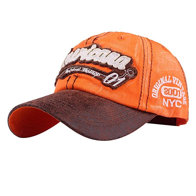 Topgrowth Cappello Cappelli da Cowboy Visiera Uomo Unisex Baseball Cappelli  Sportivi Ricamo Classico Cappello Visiera Piatta 320f5b882f1b