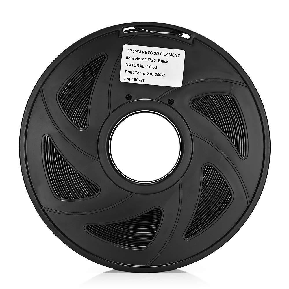 Wenquan,Práctico 1.75mm PETG 3D Impresora Filamento 1kg Carrete ...