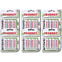 24-Pack Tenergy Centura AA NiMH Rechargeable Batteries