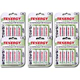 Tenergy Centura AA Low Self-Discharge (LSD) NiMH Rechargeable Batteries, 6 Card 24xAA