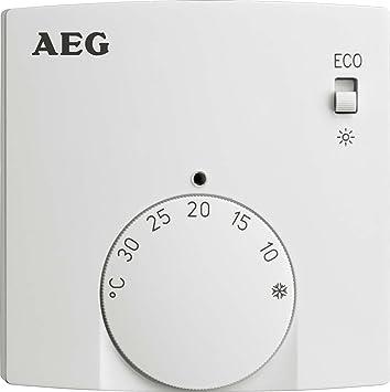 AEG Funk-Raumtemperatur-Regler RTF-A, Sender zur Regelung der ...