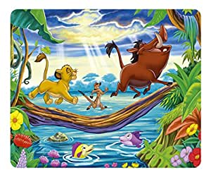 Creative Painting Custom Design Rectangle Mouse Pad Gaming Mousepad Lion King 2 Rectangle Non-Slip Mousepad Water Resistent Oblong Gaming Mouse Pads