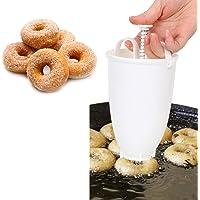 Chisbbu Arabische Waffel einfach schnell tragbare Donut Maker Kunststoff leichte manuelle Waffel Dispenser frittieren Donut Form