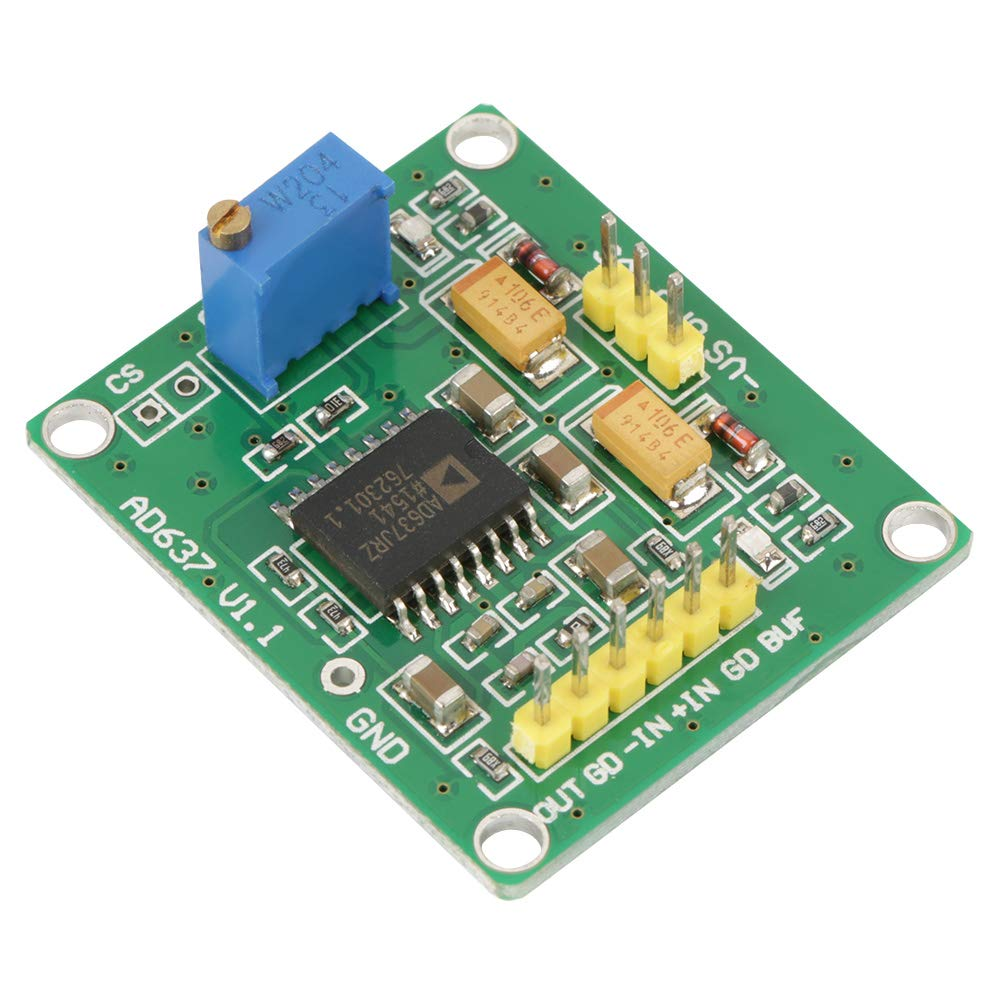 AD637 Module Precision AC True RMS/Peak ±5V~±15V -3dB Detect Built-in LPF Low Ripple Fast Response