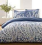 City Scene, Branches Collection, French Blue Duvet Set, King (Renewed)