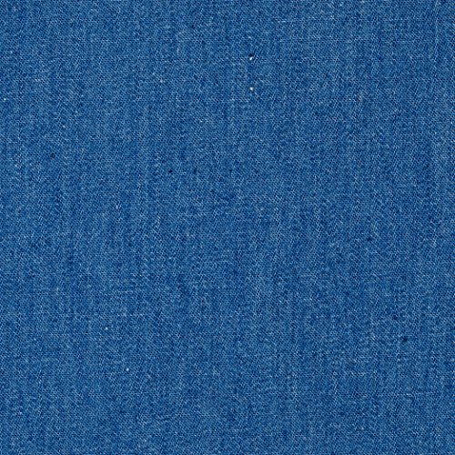 - TELIO 4.8 oz Denim Chambray Light Blue Fabric by The Yard